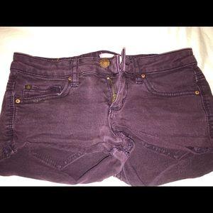 Shorts kind of a burgundy color